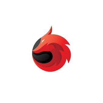 Drachenkopf-maskottchen-logo