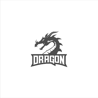 Drachensilhouette-logo