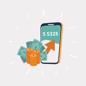 Drahtlos geld senden und empfangen