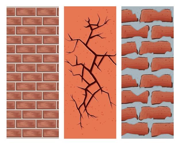 Drei explosive wände