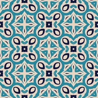Drei farben nahtlose abstrakte form. einfacher musterverzierungshintergrund