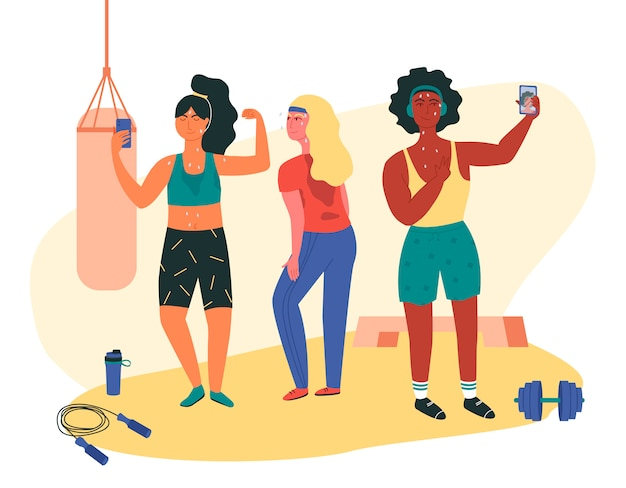 Diät-Training Frauen