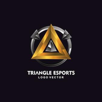 Dreieck esport logo