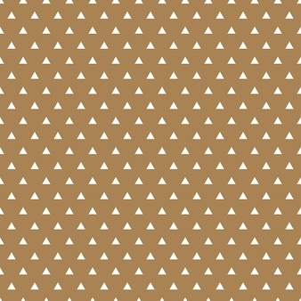 Dreieck gepunktetes muster, geometrischer einfacher hintergrund. elegante und luxuriöse stilillustration