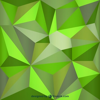 Dreieck grünen hintergrund