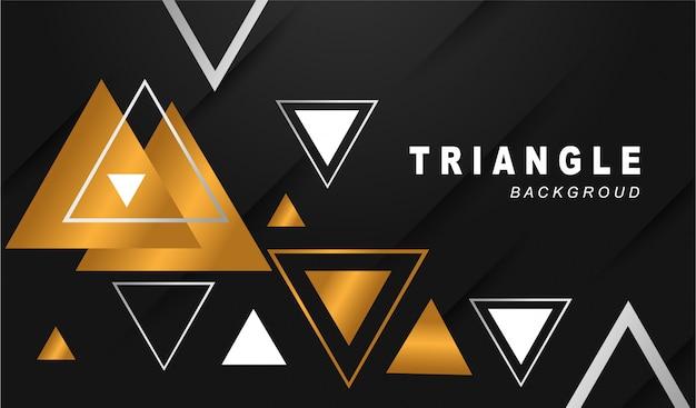 Dreieck hintergrund elegant