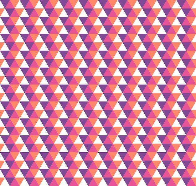 Dreieck-muster. geometrischer einfacher hintergrund. kreative und elegante stilillustration