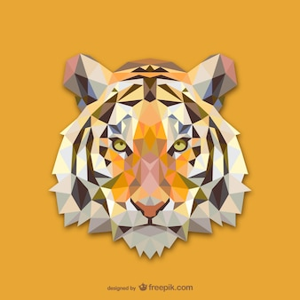Dreieck tiger design
