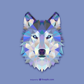 Dreieck wolf design