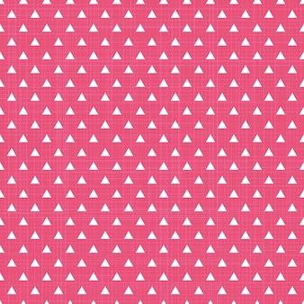 Dreieckmuster auf textil, abstrakter geometrischer hintergrund. kreative und luxuriöse illustration