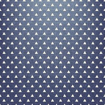 Dreiecksmuster auf textil. abstrakter geometrischer hintergrund, vektorillustration. kreatives und luxuriöses bild