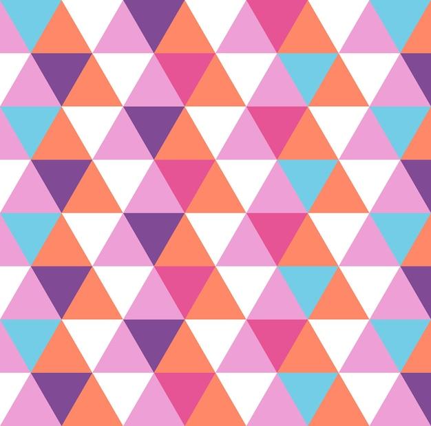 Dreiecksmuster, geometrischer einfacher hintergrund. elegante und luxuriöse stilillustration