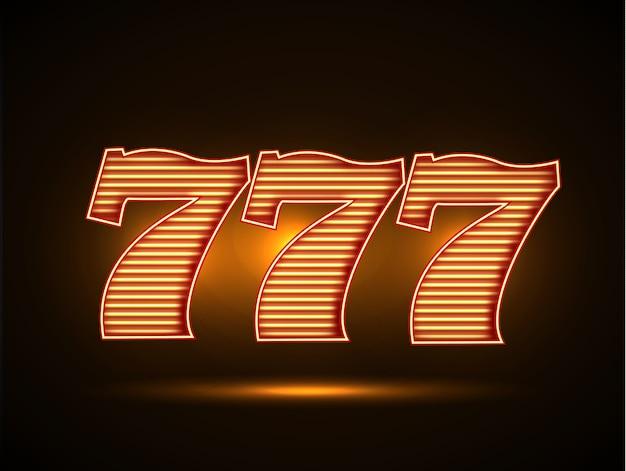 Dreifach sieben 777