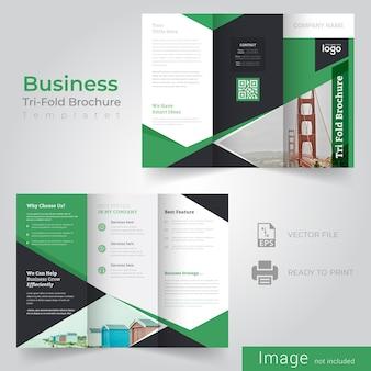 Dreifachfalte broschüren vorlage