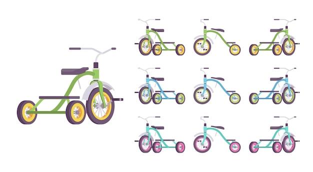 Dreirad kinderfahrradset