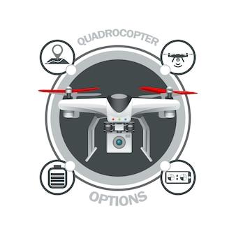 Drone quadrocopter optionen.