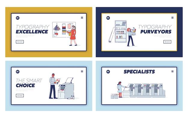 Druckdienst-zielseiten festgelegt