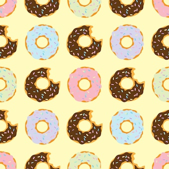 Drucken donut-muster