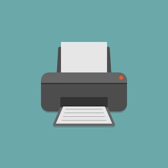 Drucker und papier