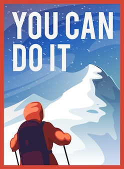 Du kannst es schaffen.