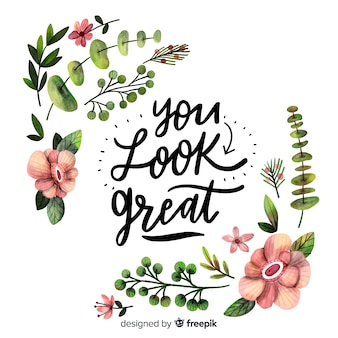 Du siehst super aus