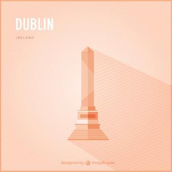 Dublin wahrzeichen vektor