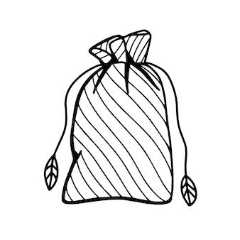 Düngemittel für pflanzenvektorillustration im doodle-stil