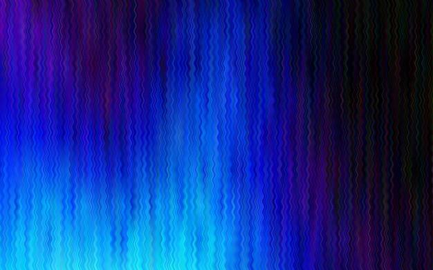 Dunkel blauer vektor hintergrund mit geschwungenen kreisen