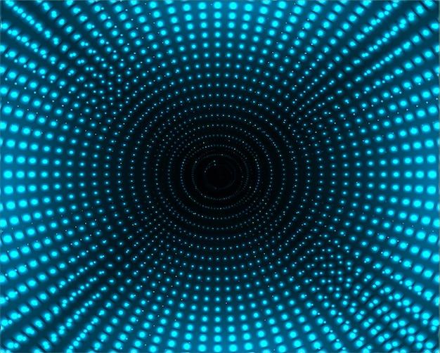 Dunkelblaue farbe licht abstrakte pixel technologie hintergrund
