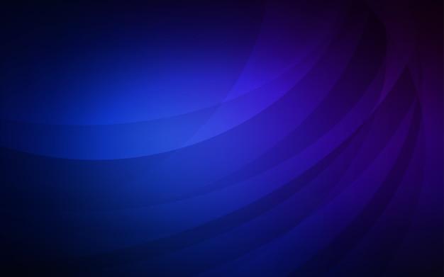 Dunkelblaue vektor vorlage mit blasenformen
