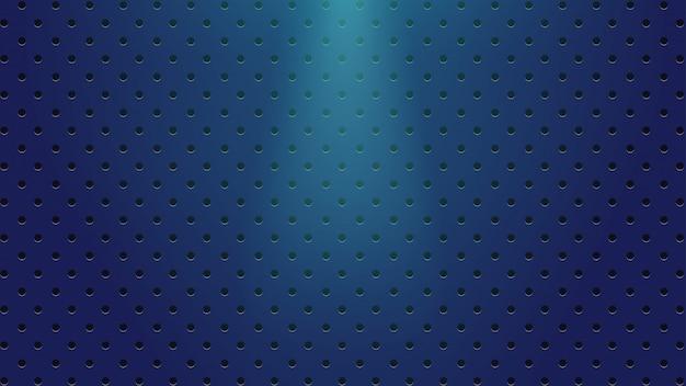 Dunkelblauer hintergrund mit lichtern