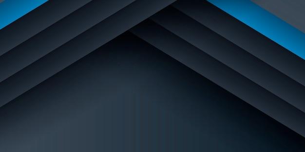 Dunkelblauer moderner präsentationshintergrund mit halbton