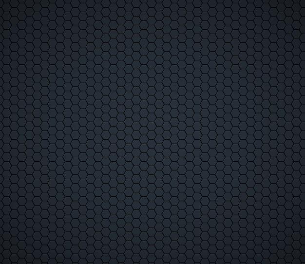 Dunkelgraue technologiehexagonbienenwabe