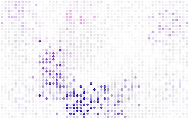 Dunkelrotes vektorrotmuster von geometrischen kreisen