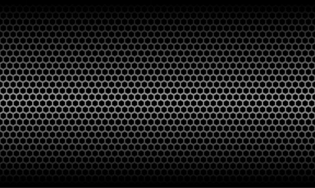Dunkle waben-metallische kohlenstoff-beschaffenheits-vektor-grafik-hintergrund
