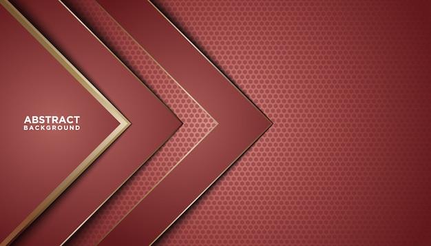 Dunkler abstrakter hintergrund mit roten deckschichten.