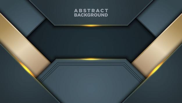 Dunkler abstrakter hintergrund mit schwarzen deckschichten