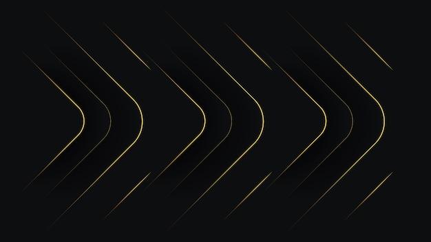 Dunkler abstrakter hintergrund mit schwarzen überlappungsebenen