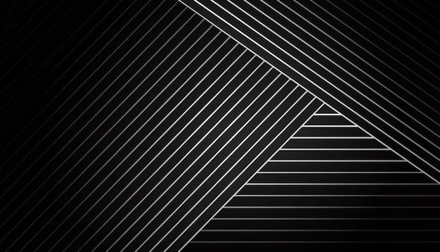 Dunkler geometrischer hintergrund