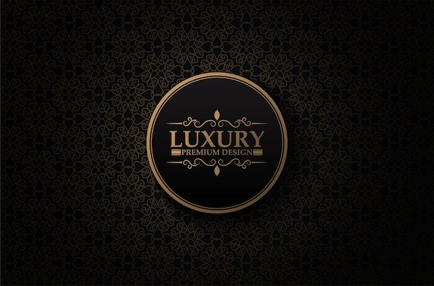 Dunkler luxushintergrund