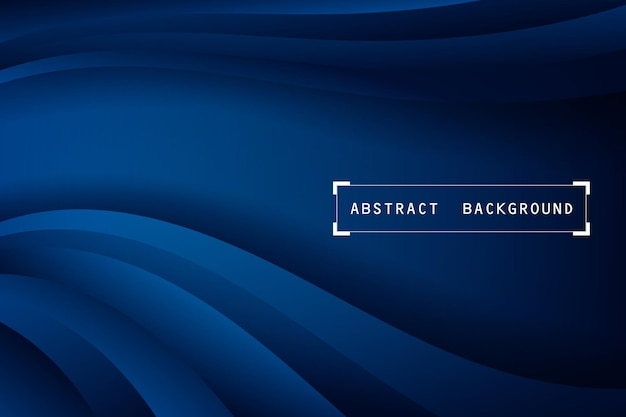 Dunkler marineblauer und weicher blauer bannerhintergrund