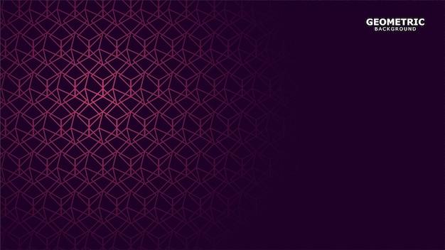 Dunkler purpurroter geometrischer hintergrund
