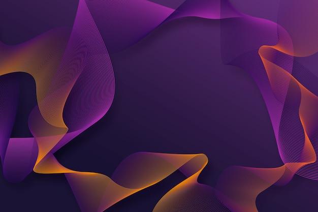 Dunkler purpurroter gewellter hintergrund