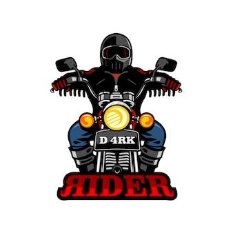Dunkler reiter