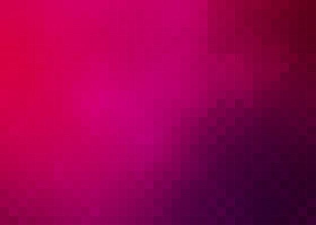 Dunkler rosa quadratischer pixel-mosaik-hintergrund