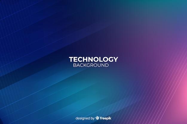Dunkler technologiezusammenfassungshintergrund
