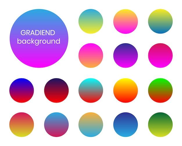 Duotone-thema mit farbverlauf