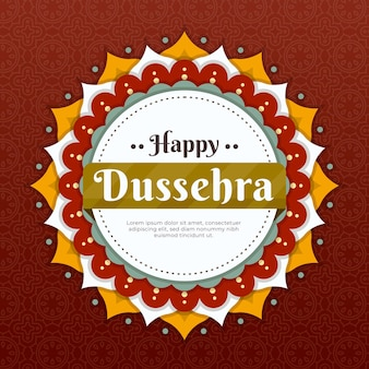 Dussehra illustration