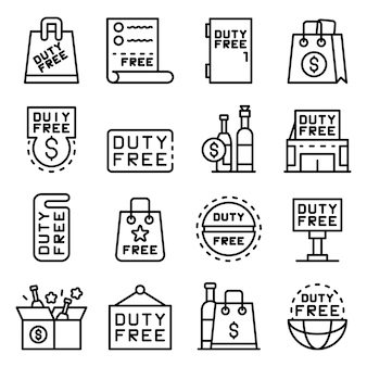 Duty-free-shop-symbole festgelegt