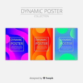 Dynamische plakatsammlung